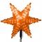 Звезда эконом (макушка) LED, 450мм