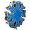 Снежинка (макушка) LED, 800мм