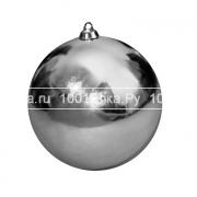 Елочный шар Ø 10 см (глянцевый)