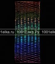 Сеть светодинамическая 3х1м с эффектом бегущий огонь