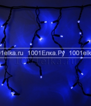 Светодиодная бахрома Icicle light 4,8x0,9m - 348 LED (каучук черный)