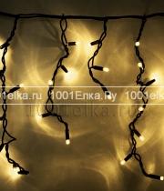 Светодиодная бахрома Icicle light 3,2x0,9m - 232 LED (каучук черный)
