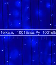 Светодиодный занавес 2x3м - 600 LED (pvc черный)