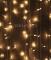 Светодиодный занавес 2x1м - 200 LED мерцание (pvc прозрачный)