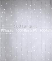 Светодиодный занавес облегченный 2x3м - 600 LED (pvc прозрачный)
