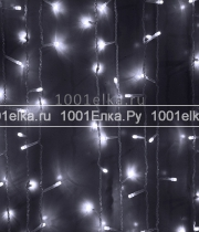 Светодиодный занавес 2x1м - 200 LED (pvc прозрачный)
