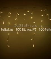 Бахрома 4,8x0,5m - 240 LED (на черном PVC проводе)