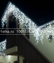 Бахрома Icicle light 3,1x0,5m - 150 LED (каучук белый)