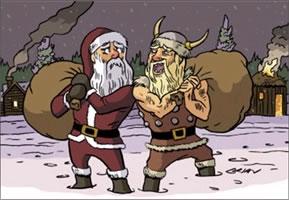 празднование нового года в скандинавии